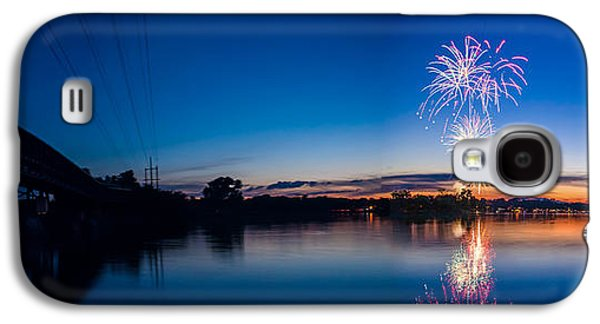 4th July Galaxy S4 Cases - Fireworks Over the Fox  Galaxy S4 Case by Lorraine Mahoney
