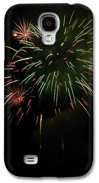 4th July Galaxy S4 Cases - Fireworks Over the Lake 84 Galaxy S4 Case by Dawn
