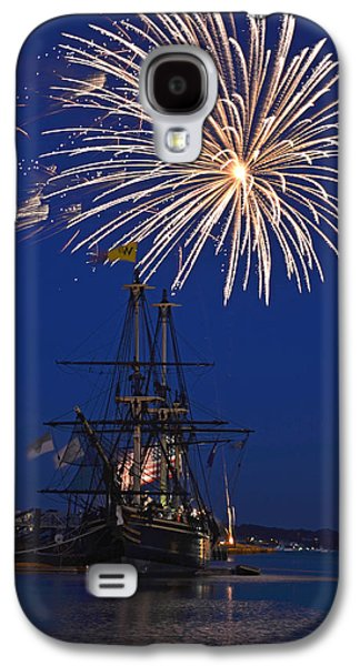 4th July Digital Galaxy S4 Cases - Fireworks over the Salem Friendship Galaxy S4 Case by Toby McGuire