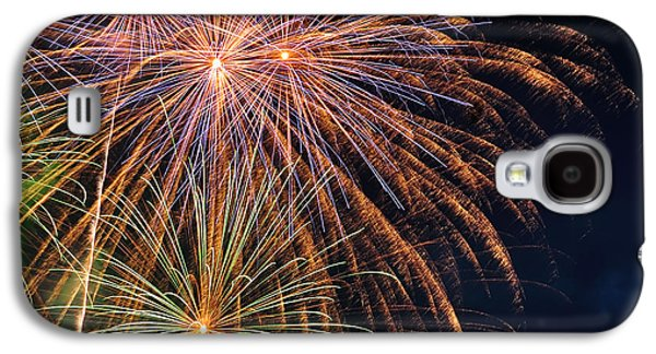 Pyrotechnics Galaxy S4 Cases - Fireworks - Royal Australian Navy Centenary Galaxy S4 Case by Kaye Menner