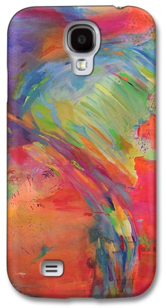 1st Base Galaxy S4 Cases - First Chakra Root or Base Galaxy S4 Case by Madalyn Kennedy