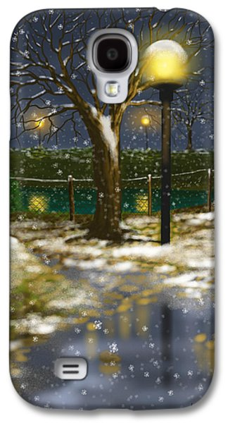 Winter Light Galaxy S4 Cases - First cold Galaxy S4 Case by Veronica Minozzi