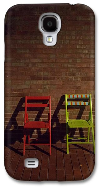 Photographs With Red. Galaxy S4 Cases - First Date Galaxy S4 Case by Guy Ricketts