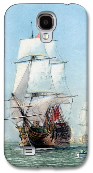 First Journey Of The Hms Victory Galaxy S4 Case by War Is Hell Store