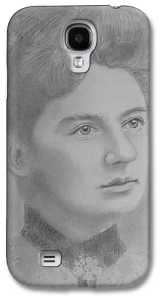 First Lady Drawings Galaxy S4 Cases - First Lady Of The United States Galaxy S4 Case by Paul Blackmore