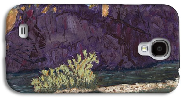 Fort Collins Pastels Galaxy S4 Cases - First Light at Picnic Rock Galaxy S4 Case by Mary Benke