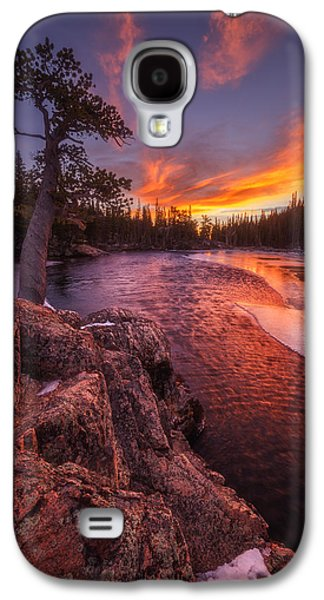 Landscape Acrylic Prints Galaxy S4 Cases - First Light Galaxy S4 Case by Darren  White