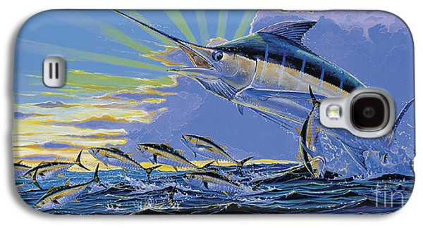 Black Marlin Galaxy S4 Cases - First Light Off00101 Galaxy S4 Case by Carey Chen