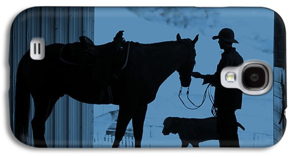 Cowboy Life Photographs Galaxy S4 Cases - First Light Galaxy S4 Case by Steven Bateson