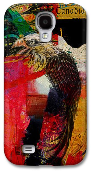 Aboriginal Art Paintings Galaxy S4 Cases - First Nations 29 Galaxy S4 Case by Corporate Art Task Force
