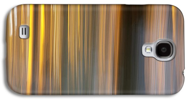 Abstract Landscape Photographs Galaxy S4 Cases - First snow in sunset Galaxy S4 Case by Davorin Mance