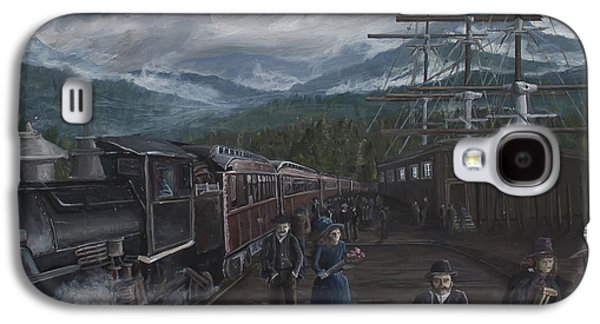 Canadian Heritage Paintings Galaxy S4 Cases - Sundays Best Galaxy S4 Case by Stefan Kaertner