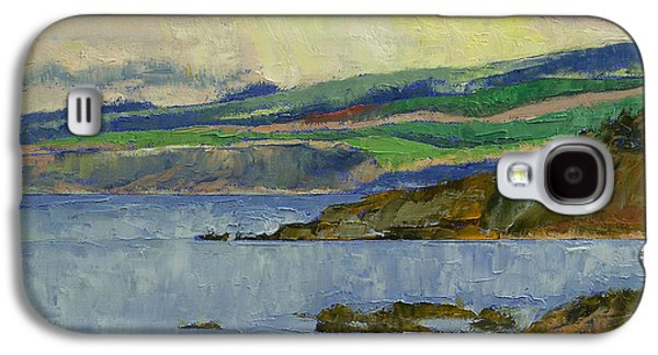Scotland Paintings Galaxy S4 Cases - Firth of Clyde Galaxy S4 Case by Michael Creese