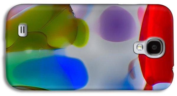 Abstract Nature Glass Galaxy S4 Cases - Fish Commuting Galaxy S4 Case by Omaste Witkowski