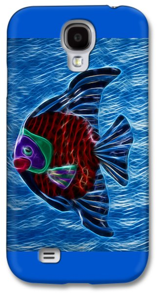 Aquatic Mixed Media Galaxy S4 Cases - Fish In Water Galaxy S4 Case by Shane Bechler