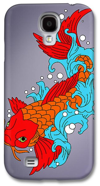 Animation Galaxy S4 Cases - Fish Galaxy S4 Case by Mark Ashkenazi