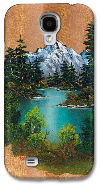 Recently Sold -  - Bob Ross Paintings Galaxy S4 Cases - Anglers Fantasy Galaxy S4 Case by C Steele