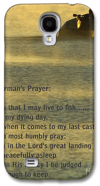 Fisherman's Prayer Galaxy S4 Case by Robert Frederick