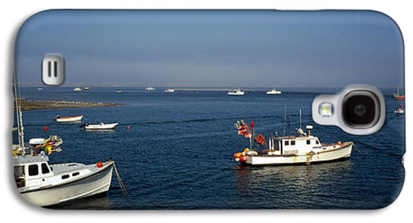 Chatham Galaxy S4 Cases - Fishing Boats In An Ocean, Cape Cod Galaxy S4 Case by Panoramic Images