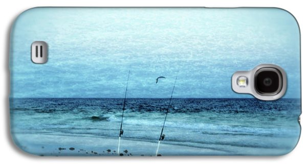 Panama City Beach Galaxy S4 Cases - Fishing Galaxy S4 Case by Sandy Keeton