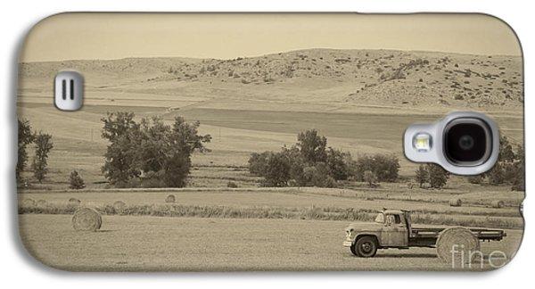 Farm Truck Galaxy S4 Cases - Fishtail Montana Galaxy S4 Case by Edward Fielding