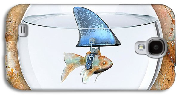 Fishy Story Galaxy S4 Case by Marvin Blaine