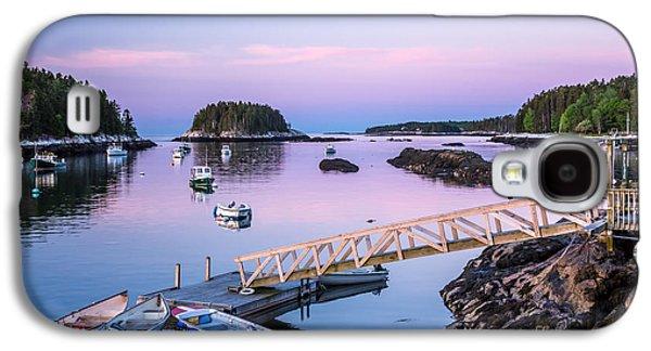 Mid-coast Maine Galaxy S4 Cases - Five Islands Dawn Galaxy S4 Case by Susan Cole Kelly