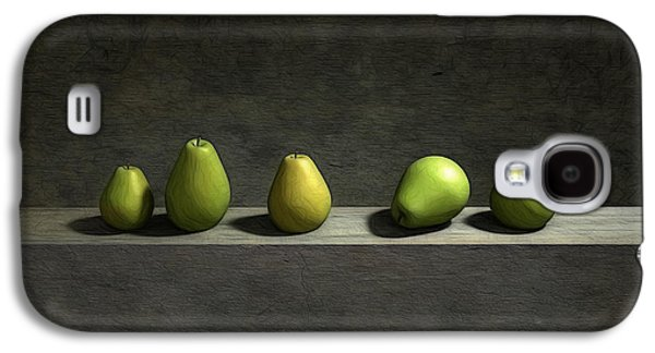 Green Modern Galaxy S4 Cases - Five Pears Galaxy S4 Case by Cynthia Decker
