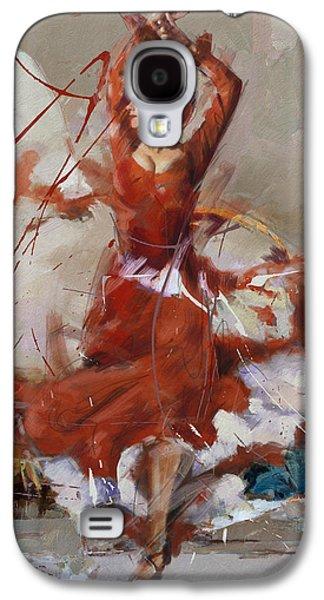 Furnishing Galaxy S4 Cases - Flamenco 37 Galaxy S4 Case by Maryam Mughal