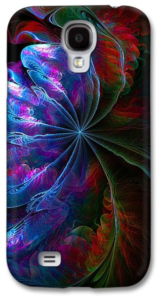 Abstract Digital Galaxy S4 Cases - Flamenco Galaxy S4 Case by Amanda Moore