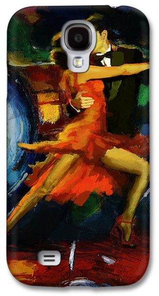 Furnishing Galaxy S4 Cases - Flamenco Dancer 029 Galaxy S4 Case by Catf