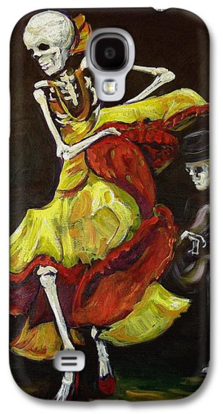 Day Paintings Galaxy S4 Cases - Flamenco VI Galaxy S4 Case by Sharon Sieben