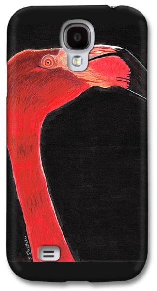 Flamingo Art By Sharon Cummings Galaxy S4 Case by Sharon Cummings