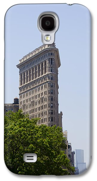 Flat Iron Galaxy S4 Cases - Flat Iron Building Galaxy S4 Case by Bill Cannon