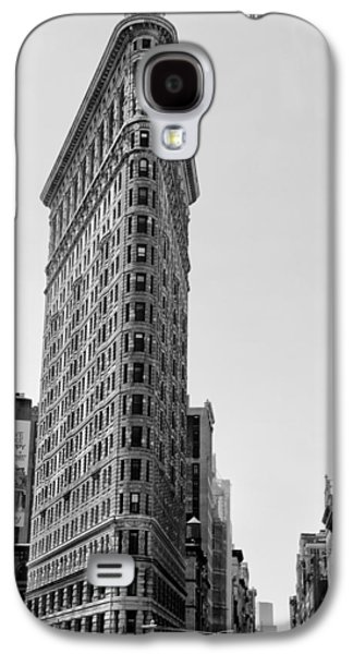Flat Iron Galaxy S4 Cases - Flat Iron in Black and White Galaxy S4 Case by Bill Cannon