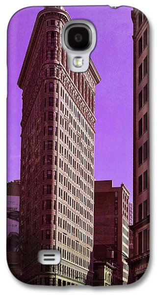 Flat Iron Galaxy S4 Cases - Flat Iron NYC Galaxy S4 Case by Laura  Fasulo