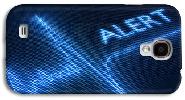 Hearts Galaxy S4 Cases - Heart failure / health Galaxy S4 Case by Johan Swanepoel