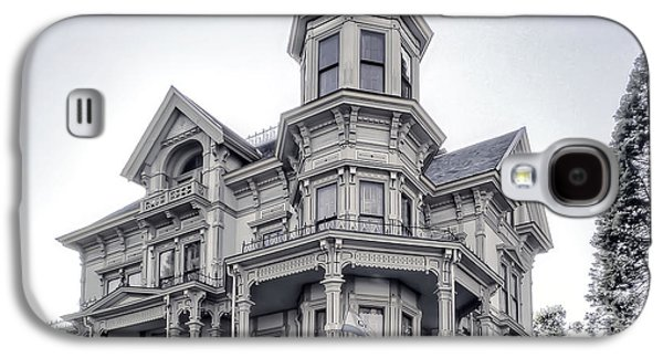 The Haunted House Galaxy S4 Cases - Flavel Victorian Home Galaxy S4 Case by Daniel Hagerman