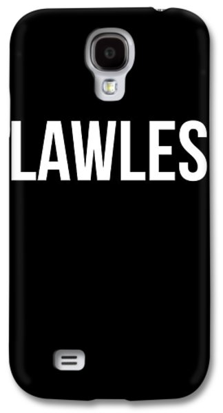Flawless Poster Galaxy S4 Case by Naxart Studio