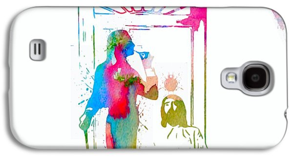Celebrities Digital Art Galaxy S4 Cases - Fleetwood Mac Album Cover Watercolor Galaxy S4 Case by Dan Sproul
