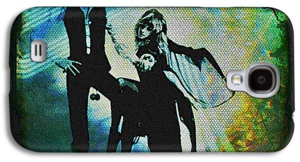 70s Galaxy S4 Cases - Fleetwood Mac - Cover Art Design Galaxy S4 Case by Absinthe Art By Michelle LeAnn Scott