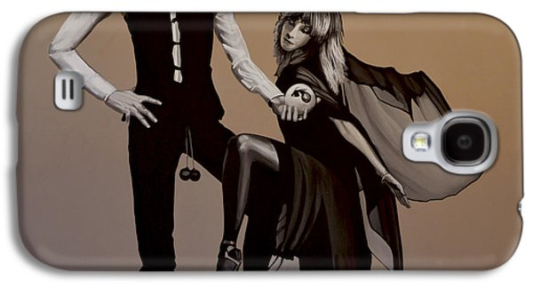 Realistic Art Paintings Galaxy S4 Cases - Fleetwood Mac Rumours Galaxy S4 Case by Paul Meijering