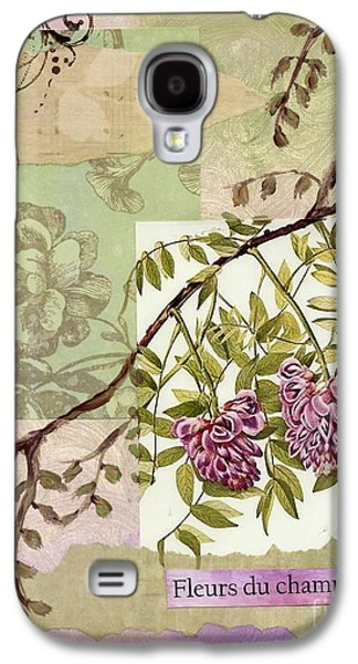 Nature Study Mixed Media Galaxy S4 Cases - Fleurs du champ Galaxy S4 Case by Tamyra Crossley