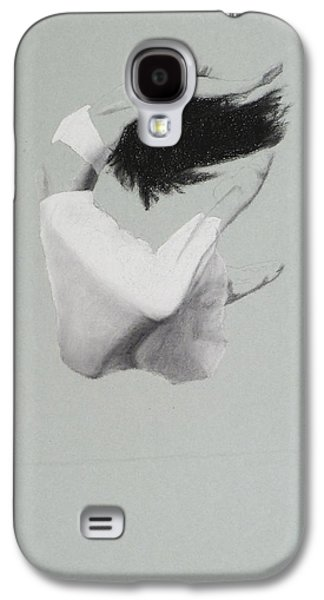 Ballet Dancers Pastels Galaxy S4 Cases - Flight Galaxy S4 Case by Elizabeth B Tucker