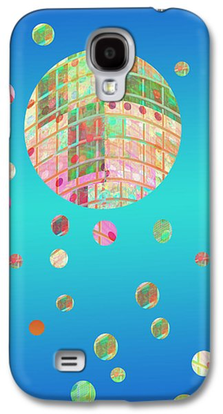 Abstract Digital Mixed Media Galaxy S4 Cases - Floating  Galaxy S4 Case by Ann Powell