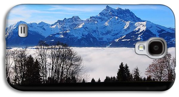 Temperature Inversion Galaxy S4 Cases - Floating Dents du Midi Galaxy S4 Case by Hilary Rhodes