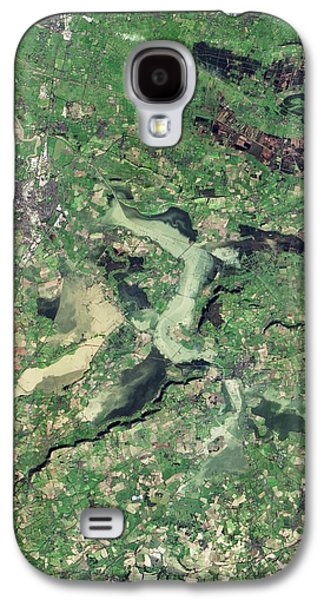 Flooded Somerset Levels Galaxy S4 Case by Nasa