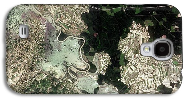 Flooding In The Balkans Galaxy S4 Case by Nasa Earth Observatory