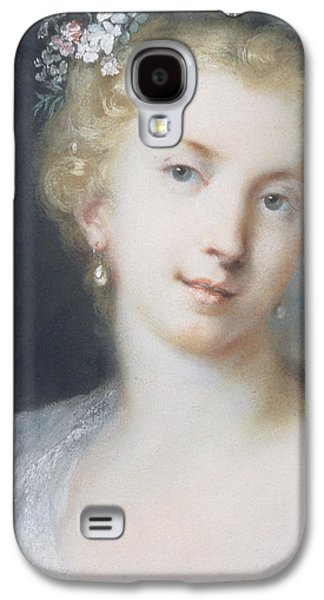 Flora Paintings Galaxy S4 Cases - Flora Galaxy S4 Case by Rosalba Giovanna Carriera