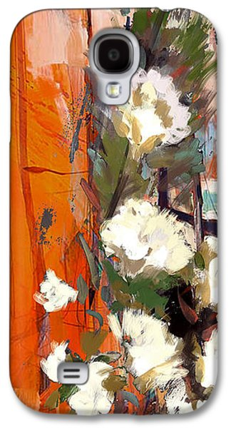 Vase Of Flowers Galaxy S4 Cases - Floral 17B Galaxy S4 Case by Mahnoor Shah